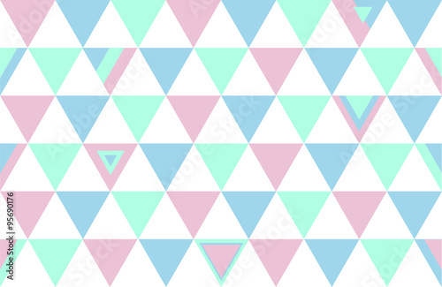 Turkey Top Colors Background Triangle Polygon 2015 Vector Illustration - 95690176