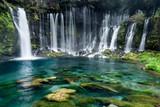 Fototapety türkisblaue Wasserfälle