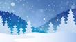 Winter theme landscape 4