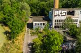 verlassene Fabrik Luftbild
