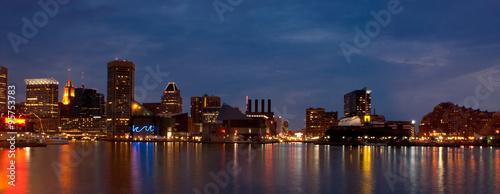 Fototapeta Baltimore Inner Harbor