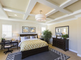 Interior of A Beautiful Master Bedroom