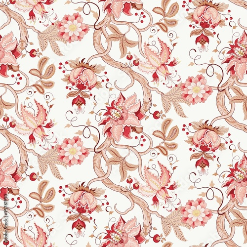 Katherine Floral Seamless Pattern