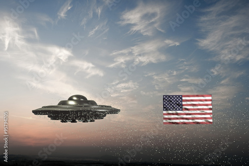Foto op Canvas united states conspiracy