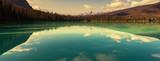 Fototapety Emerald lake