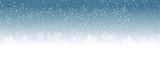 Fototapety blue christmas background snowflakes
