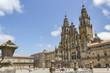 Facade of Santiago de Compostela cathedral