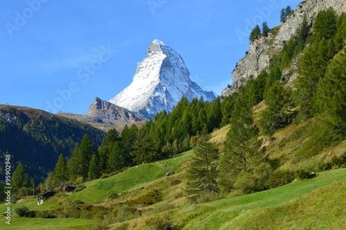 Poster Das Matterhorn in seiner vollen Pracht