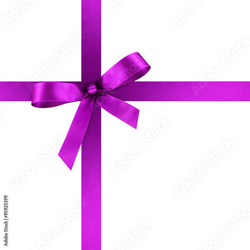 GamesAgeddon - Lila Geschenkschleife und Geschenkband aus violettem ...