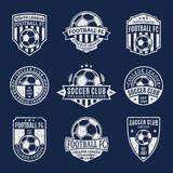Fototapety Set of Soccer Football Club Logo