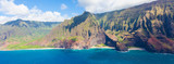 Fototapety kauai from helicopter