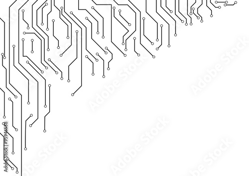 circuit border related keywords suggestions circuit border vector electronic circuit border on white background arkivbilder