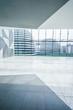modern building interior window glass - 95973737
