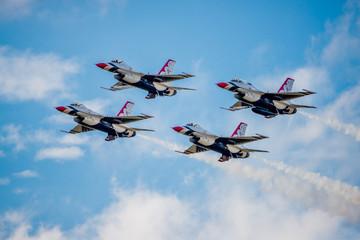 USMC F-16 Thunderbirds