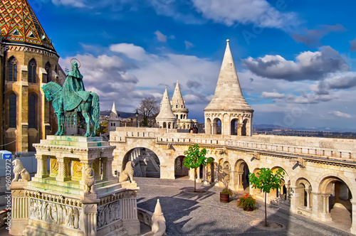 Papiers peints Budapest Fisherman's Bastion in Budapest