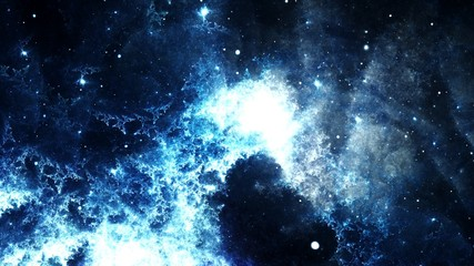 Streszczenie cyfrowy galaktyka jasny i kolorowy Mgławica i gwiazdy