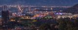 Fototapety Panoramic View of Studio City, San Fernando Valley, Los Angeles,