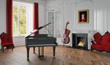 3d - Musikzimmer - Barock-Jugendstil - 96070152