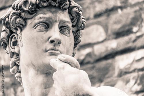 Michelangelo's David Statue, Italian Art Symbol Poster