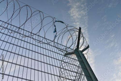 fermeture des frontières Poster