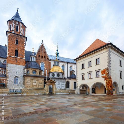 Fototapeta Krakow Wawel Royal Castle