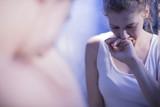 Fototapety Sick teenage girl