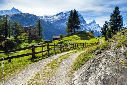 fototapeta na ścianę Via Spluga, Graubünden, Schweiz
