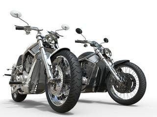 Black and White vintage motorcycles © Dimitrius