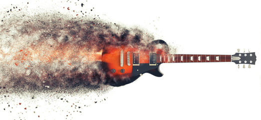 Hard Rock guitar - Particle FX