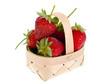 red strawberries