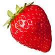 fresh strawberry isolated