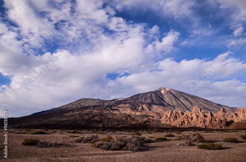 Papiers peints Cappuccino Teide National Park