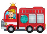 Fire truck theme image 4
