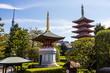the pagoda at Senso-Ji temple in Tokyo, Japan