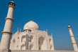 Taj Mahal with blue sky