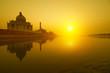 Taj Mahal sunset