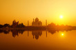 Taj Mahal from yamuna river view