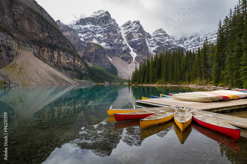 Moraine Lake at Banff National Park © sekarb