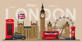Fototapety vector great britain
