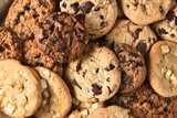 Assorted Cookie Closeup
