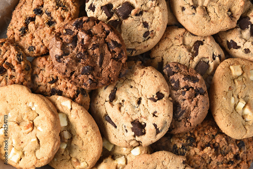 Assorted Cookie Closeup Poster
