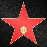 Star, television, receiver, vector
