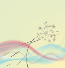 gentle abstract background