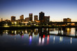 Blue hour in Little Rock
