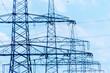 Stromasten einer Hochspannungsleitung - 96296150