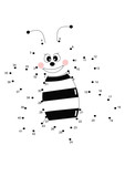 gioco puntini, ape