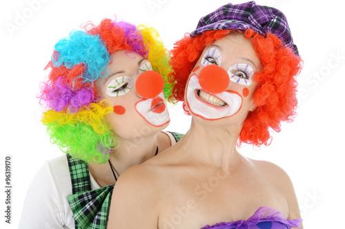 Gamesageddon Clown Mit Horrormaske Zu Halloween Karneval