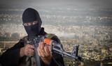 Actor posing as a terrorist