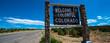 Colorado road sign