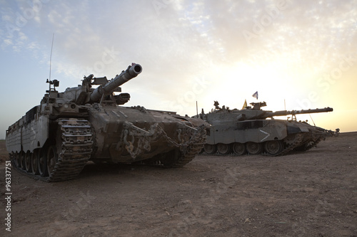 Główny czołg główny Merkava Mk 4 Baz
